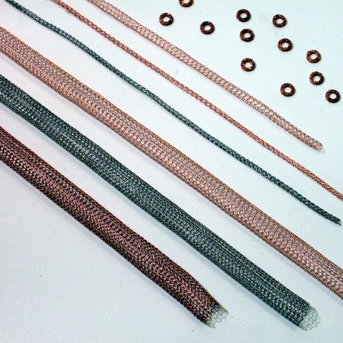 joint à ressort / en acier / de cuivre / de blindage EMI