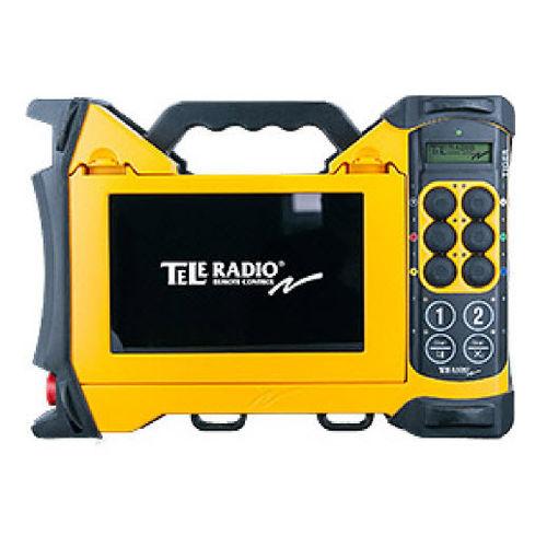 télécommande radio / à 10 boutons / avec écran intégré / compacte