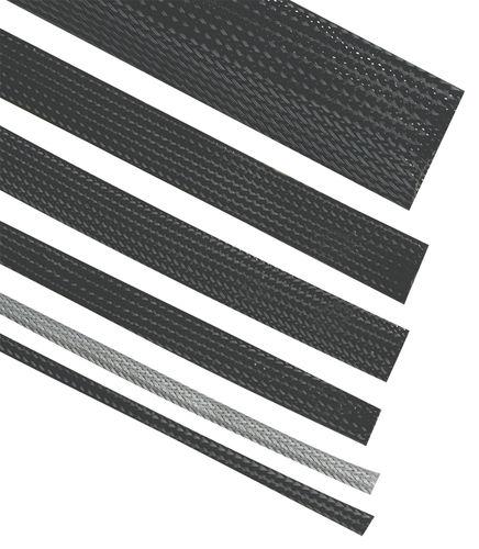 gaine en mono-filaments / isolante / tressée / pour câbles