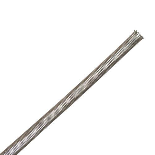 Gaine isolante tressée / fibre de verre / de protection / traitée à haute température - 60 - 450°C | SHT FAVIER TPL