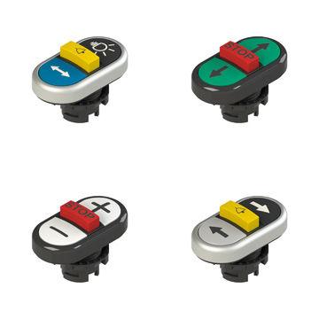 bouton poussoir tactile / multipolaire / à montage affleurant / IP67
