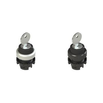 Bouton poussoir à bouton sélecteur / à clé / IP67 / IP69K E2 SC Series Pizzato Elettrica