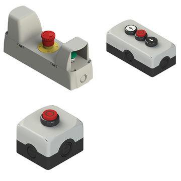 Boitier de commande ES, ES AC, EA, EA AC series Pizzato Elettrica