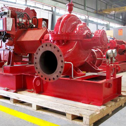 Pompe pour produit chimique / à moteur diesel / centrifuge / mono-étagée max. 568 m³/h (2 500 gpm) RUHRPUMPEN