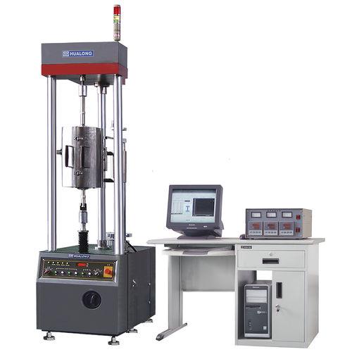 machine d'essai d'élongation / de fluage / contrôlée par ordinateur / électromécanique