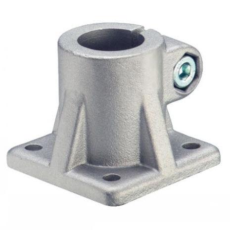 connecteur de tube rond / en aluminium / appui sol