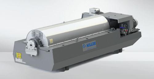 Décanteur centrifuge / horizontal / pour déshydratation des boues / pour eaux usées DP664, DP764 Hiller GmbH