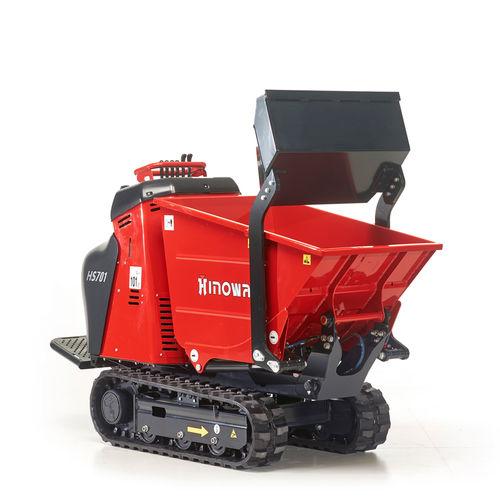 Mini-dumper à chenilles / diesel / essence / à déchargement frontal HS701 HINOWA SPA