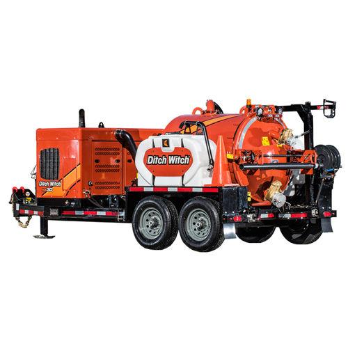 excavatrice aspiratrice pour déchets dangereux
