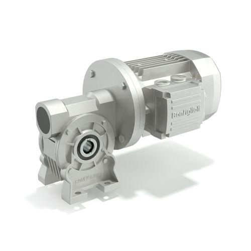 motoréducteur AC / 5 - 10 kNm / orthogonal / à vis sans fin