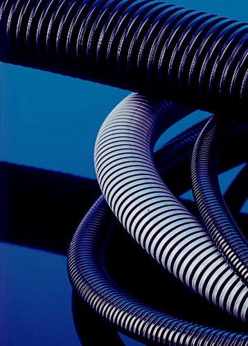 gaine de protection / annelée / pour câbles / en polyamide