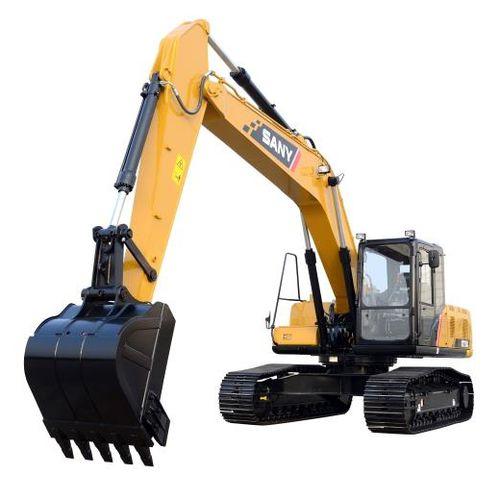 pelleteuse intermédiaire / sur chenilles / Tier 2 / pour chantier de construction