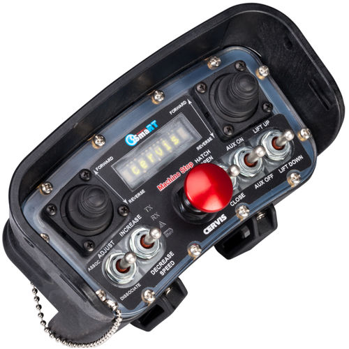 télécommande sans fil / à joystick / avec interrupteur à levier / IP65