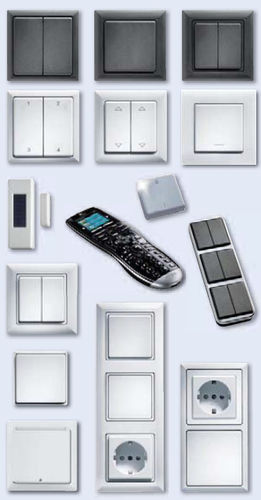 Bouton poussoir unipolaire / sans fil / électromécanique / standard Eltako Electronics