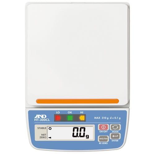Balance benchtop / avec afficheur LCD / avec voyants de comparaison / compacte A&D COMPANY, LIMITED