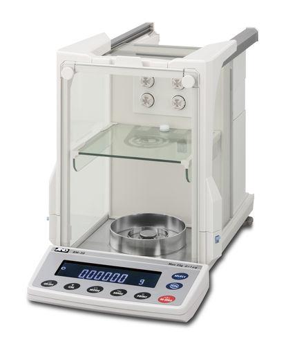 balance de laboratoire / micro / d'analyse / avec afficheur LCD