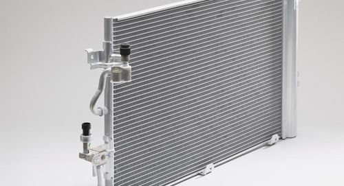 condenseur refroidi / aluminisé