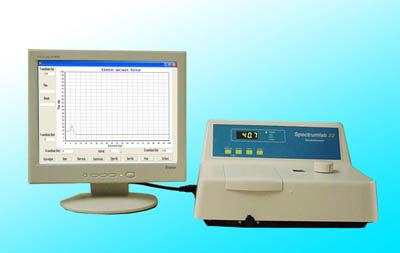 spectrophotomètre UV-Vis / benchtop / en transmission / d'absorption