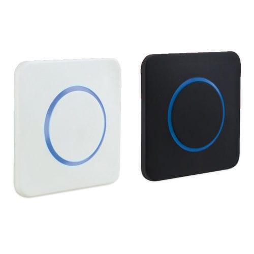 interrupteur d'ouverture de porte / lumineux (LED) / sans contact / IP65