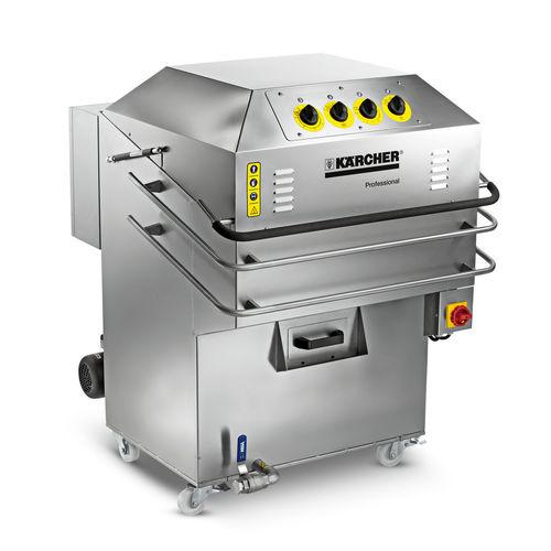 machine de nettoyage automatique / à chargement par le haut / à panier rotatif
