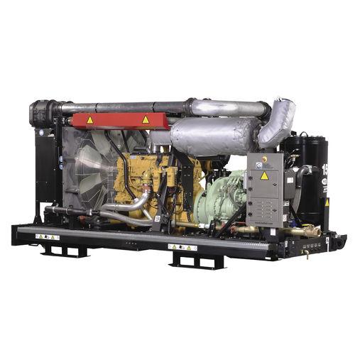 compresseur d'air / stationnaire / à moteur électrique / à vis