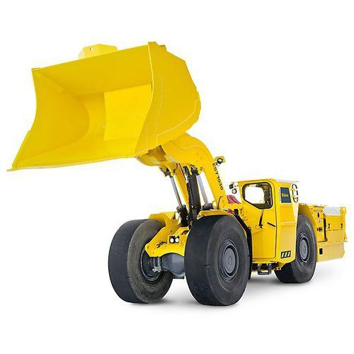 chargeuse à roues / articulée / ergonomique / pour mine souterraine