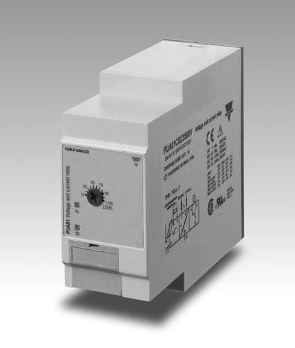 Relais électromécanique / de tension / de phase / de contrôle 100 - 690 V   CARLO GAVAZZI