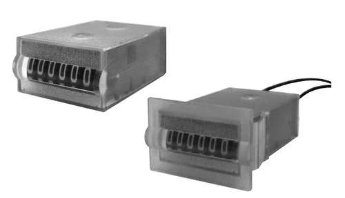 Compteur d'impulsions / horaire / analogique / électromécanique EMCT, E1CT, E2CT series  CARLO GAVAZZI