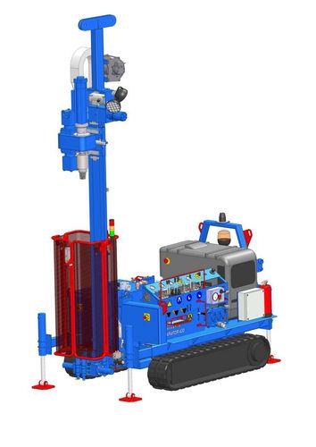 Foreuse rotative / multi fonction / hydraulique / sur chenilles 2 200 kg | APAFOR® 430 APAGEO