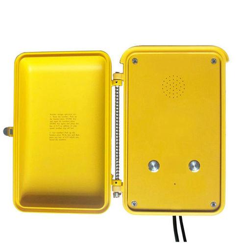 téléphone analogique / VoIP / PoE / IP66