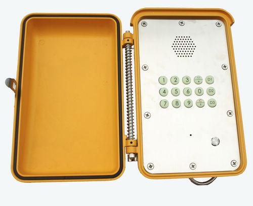 Téléphone SIP / analogique / VoIP / IP66 KNSP-13MT JP3 HONGKONG KOON TECHNOLOGY LTD