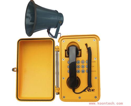 Téléphone SIP / analogique / VoIP / IP66 KNSP-08L HONGKONG KOON TECHNOLOGY LTD