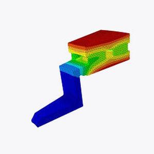 logiciel de simulation / analyse par éléments finis / d'optimisation de conception / de gestion de données