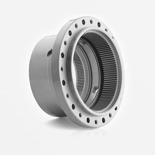 engrenage conique / hélicoïdal / de précision / interne