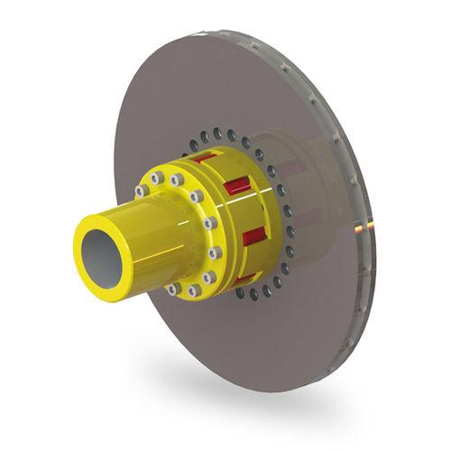 accouplement flexible / à disque / avec mesure de couple