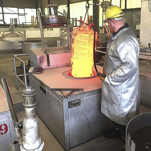 bain fluidisé pour traitement thermique - SCHWING Technologies GmbH