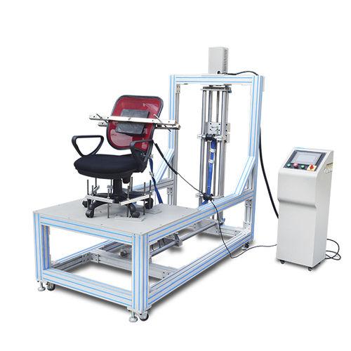 machine de test de résistance à la traction / pour accoudoir / pour dossier de fauteuil