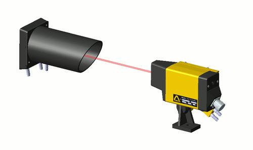 barrière immatérielle de sécurité / mono-faisceau / type reflex / IP67
