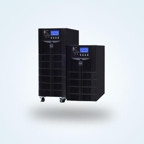 UPS à double conversion / monophasé / pour batterie / avec afficheur LCD