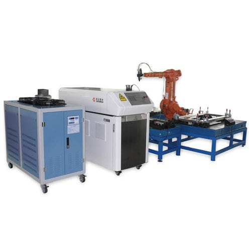 machine de soudage laser à fibre / robotisée / de précision / CNC