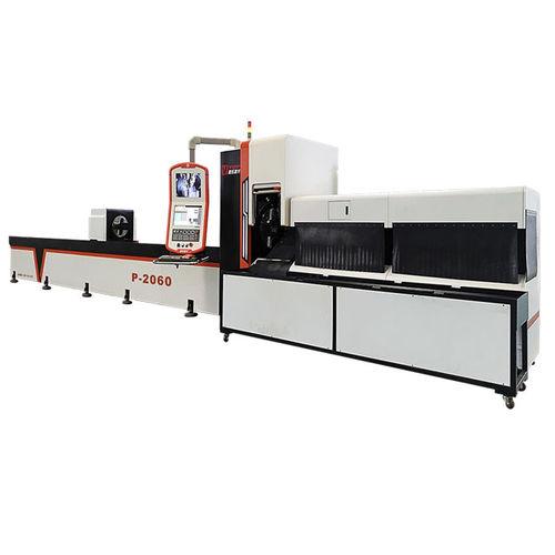 machine de découpe laser à fibre / pour acier / pour acier inoxydable / de tubes