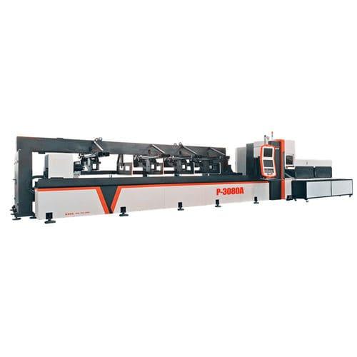 machine de découpe pour métal / laser à fibre / de tubes / de profilés