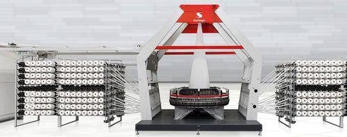 machine de tissage à grande vitesse / circulaire