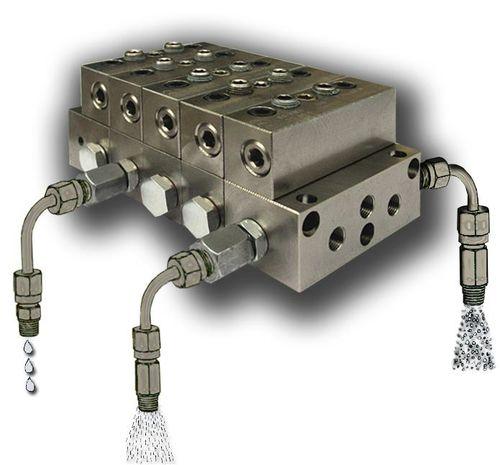 distributeur progressif pour système de lubrification centralisée - Dropsa spa