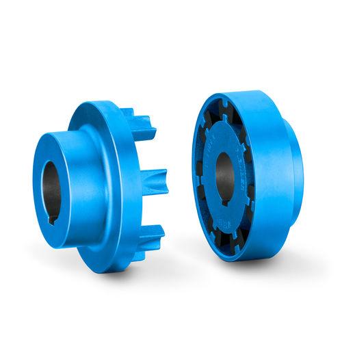accouplement flexible en torsion / à 1 griffe / élastique / pour soufflante