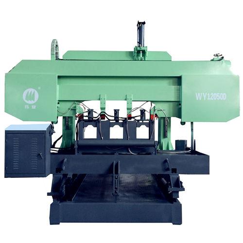 machine à scier à ruban / pour cuivre / pour tubes / avec système de refroidissement
