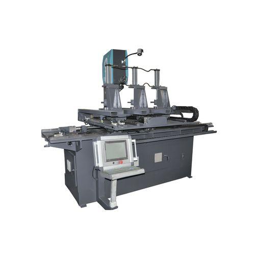Machine à scier à ruban / pour graphite / pour tôle / pour bloc en mousse souple PU Zhejiang Weiye Sawing Machine Co., Ltd
