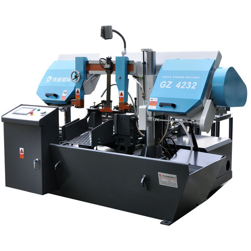 machine à scier à ruban / pour métaux / automatique / avec système de refroidissement