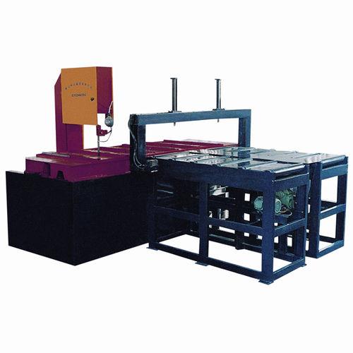 Scie à ruban / avec système de refroidissement / à vitesse variable / avec alimentation automatique CE 400H x 600W x 2500L GY5340 Zhejiang Weiye Sawing Machine Co., Ltd
