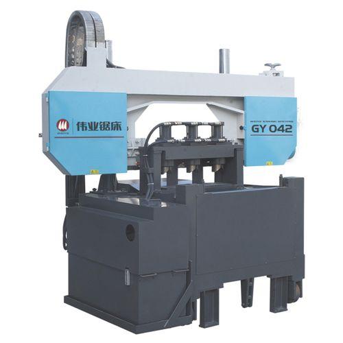 Scie à ruban / pour cuivre / pour matériaux non-ferreux / avec système de refroidissement CE 100mmx3pcs GY042 Zhejiang Weiye Sawing Machine Co., Ltd